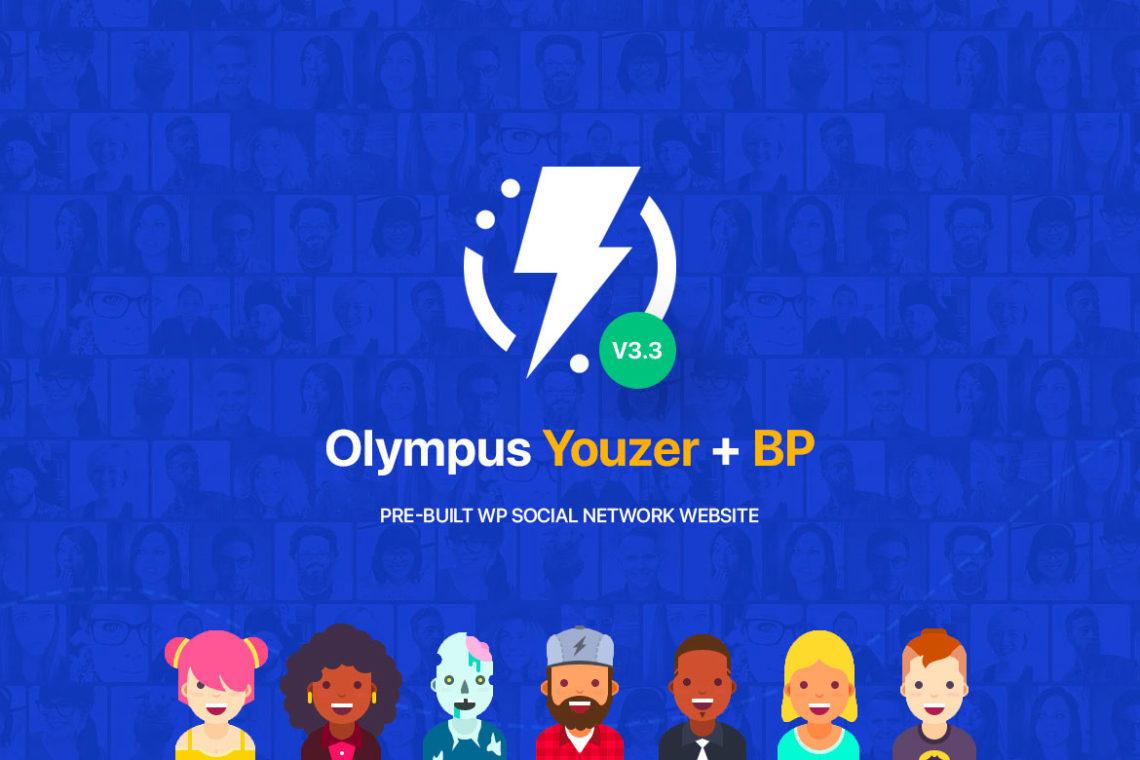[Olympus] Version 3.3 released