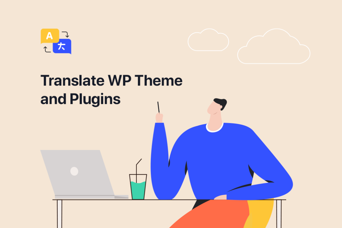 Loco Translate for translating Themes and Plugins