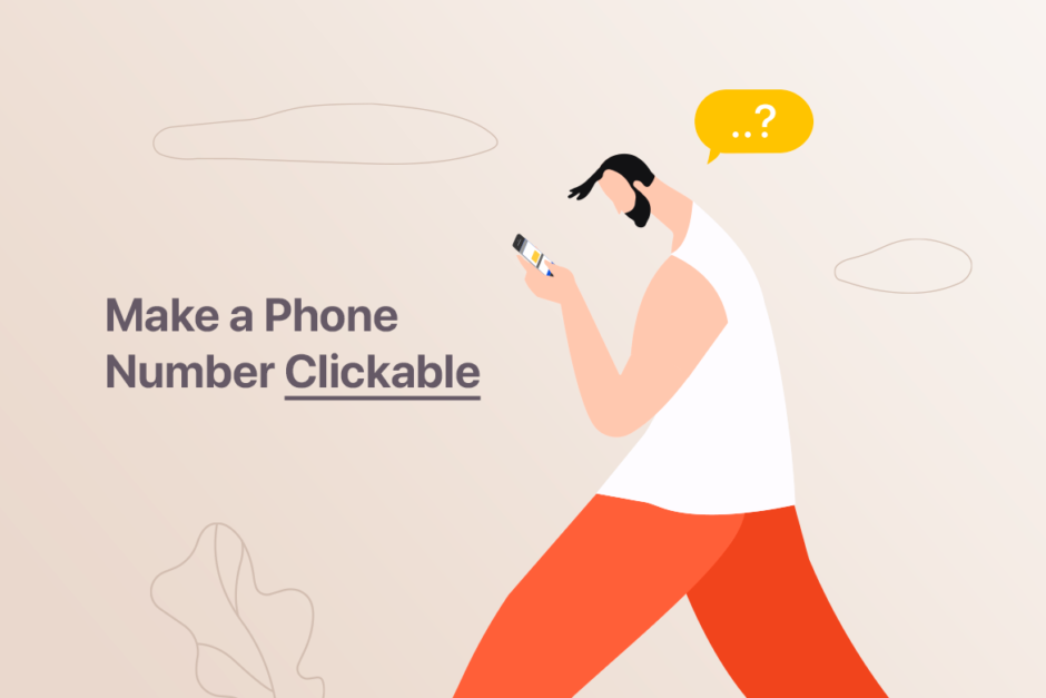How to Make a Phone Number Clickable